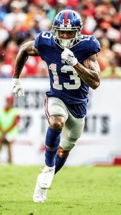 Check out all our New York Giants merchandise! New York Football, Nfl Football Players, Nfl New York Giants, Football Uniforms, Steelers Football, Beckham Football, Odel Beckham, Odell Beckham Jr Catch, Odell Beckham Jr Wallpapers