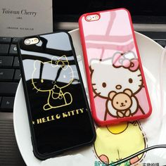 Luxury Silicone Mirror Cute Hello Kitty Cartoon Case For Apple iphone 7 Plus 6 Plus 5 SE Cases Back Cover Fundas Coque – World of Hello Kitty Merchandise Iphone 6, Apple Iphone, Iphone 7 Plus Cases, Hello Kitty Merchandise, Hello Kitty Cartoon, 6s Plus, Cute, Sanrio, Yeezy