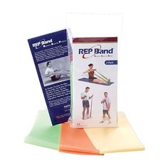 Level: Light Bulk Latex-Free Resistance Band 4 Inches X 6... Rep Band Orange