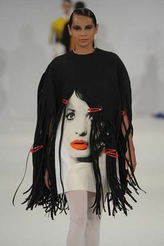 Hot off the catwalk at Graduate Fashion Week - here's one of Claire's original designs. #catwalk #fashion
