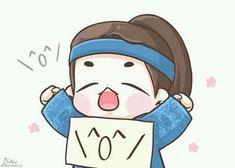 exo and baekhyun -scarlet heart ryeo Baekhyun Fanart, Chanyeol, Korean Art, Cute Korean, Korean Drama, Bts Chibi, Anime Chibi, Baekhyun Scarlet Heart, Baekhyun Moon Lovers