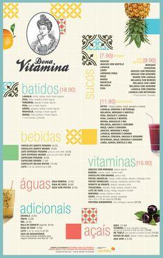 Cardápio Dona Vitamina