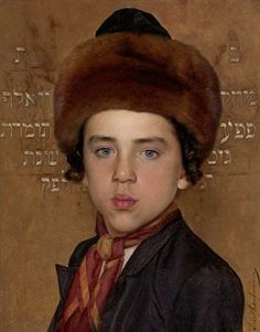 Portrait of a Boy Isidor Kaufmann (1853 - 1921)