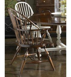 American Cherry Rhode Island Windsor Arm Chair (Set of 2) by Fine Furniture Design