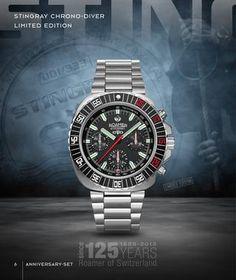 I love this Roamer Stingray watch.