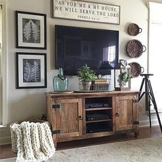 3 Handsome Clever Tips: Living Room Remodel Ideas French Country farmhouse living room remodel farm house.Small Living Room Remodel Sofa Tables living room remodel on a budget home improvements.Living Room Remodel Ideas Mobile Homes. Living Room Remodel, My Living Room, Home And Living, Small Living, Cozy Living, Modern Living, Rustic Living Rooms, Tv Stand Ideas For Living Room, Kitchen Living