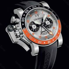 Immagine orologio Graham modello Chronofighter Oversize Big Date GMT Silver Dial