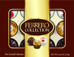 Ferrero Collection, 12 Count, 4.6 Ounce (129 gm), 2016 Amazon Most Gifted Candy & Chocolate  #Grocery
