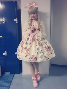 """""""Have Courage And Be Kind"""" — sucre-dolls: Misako wearing Dreaming Present..."""