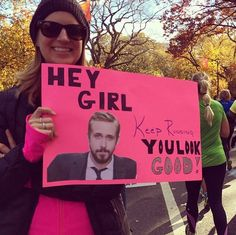 The 35 Best Signs From The NYC Marathon