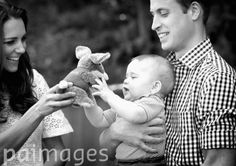 Don't worry Prince George, you've got your own cuddly Bilby to take home!