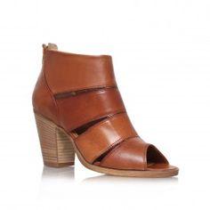 KIWI Tan High Heel Ankle Boots by Carvela Kurt Geiger