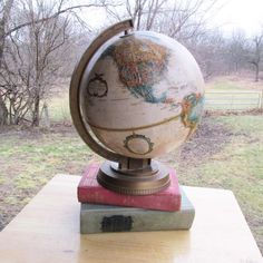 26 best Map Globe images on Pinterest   Globes  Map globe and Art     Replogle Globe Vintage World Globe 9 Inch Raised Relief