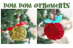 homemade fabric ornaments - Google Search