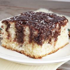 Kókuszos fakanalas süti
