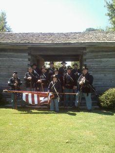 Company A 9th Arkansas/Company B 9th Wisconsin at Scott, AR