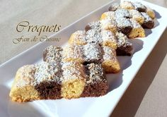 Croquets vanille/chocolat