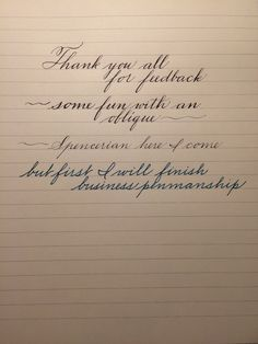 Feedback on my Penmanship Copperplate Calligraphy, How To Write Calligraphy, Calligraphy Handwriting, Calligraphy Letters, Penmanship, Cursive Letters, Caligraphy, Hand Lettering Practice, Hand Lettering Tutorial