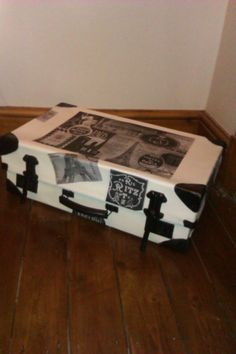 This started life as a tattered old suitcase