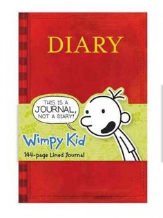This Mudpuppy hardcover lined journal is based on Greg's diary that started it all, in the bestselling Diary of a Wimpy Kid by Jeff Kinney. Growing up should be fun!