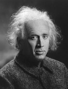 Nic Cage as Albert Einstein