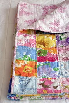 Lots of cute ideas of projects to make with a Vintage Sheet or Vintage Handkerchief or Vintage Linens; free sewing projects & ideas.