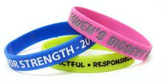 Silicone Engraved Wristbands Printed Wristband Manufacturer Stuff Creation Provide You Best Possible Solution For