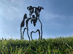 Jack Russell Rusty Dog Metal Garden Art The Effective Pictures We Offer You About cement Garden Art A quality picture can tell you many things. You can find the most beautiful pictures that can be pre Cement Garden, Dog Garden, Metal Garden Art, Metal Art, Animal Silhouette, Silhouette Art, Pergola, Jack Russell Dogs, Metal Birds