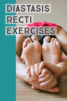 These simple yet highly effective exercises improved my diastasis recti (mom pooch) and pelvic floor dysfunction.  Diastasis recti, pelvic floor dysfunction, pelvic floor physical therapy, non surgical tummy tuck, mom pooch, ab exercises, core exercises.