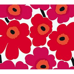 "Found it at AllModern - Unikko 33' x 27"" Floral 3D Embossed Wallpaper"