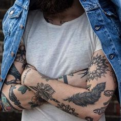 Картинка с тегом «tattoo, beard, and boy»