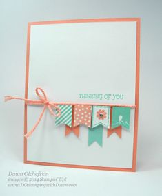 Thinking of You, stampin' up! Sale-a-Bration 2014