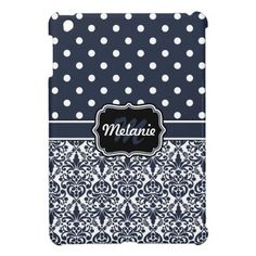 Navy Blue Monogrammed Damask Polka Dot iPad Mini Case we are given they also recommend where is the best to buyShopping          Navy Blue Monogrammed Damask Polka Dot iPad Mini Case Review from Associated Store with this Deal...