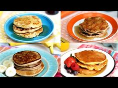 4 Simple and Healthy Pancakes - Tasty Food Ingredients 1 medium ripe banana 1 large egg Canola oil or nonstick spray Butter and syrup, for serving How You Ma...