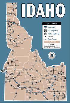 20 Fun & Interesting Facts about Idaho.  visitidaho.org  #idaho