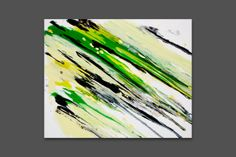 Abstract Canvas Art Painting 30x40 cm or 12x 16 by IvanNegin