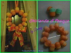 TuttoPerTutti: GHIRLANDA DI PASQUA by Denny Una semplicissima decorazione pasquale, carina carina carina!  http://tucc-per-tucc.blogspot.it/2016/03/ghirlanda-di-pasqua.html