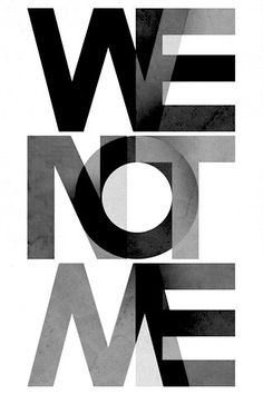 Typography. Playing with transparency.