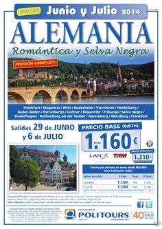 ALEMANIA - Romántica y Selva Negra - salidas 29/06 y 6/07 desde Madrid (8d/7n) p. final dsd 1.310€ ultimo minuto - http://zocotours.com/alemania-romantica-y-selva-negra-salidas-2906-y-607-desde-madrid-8d7n-p-final-dsd-1-310e-ultimo-minuto-3/