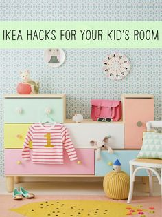 From a pretty dollhouse and play kitchen to bunk beds and toy storage, we rounded up 7 seriously cool IKEA hacks your kids will go crazy for, at Babble.