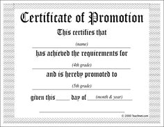 promotion certificate template - 1000 images about sunday school certificates on pinterest