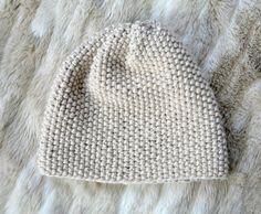 Easy Knit Slouch Hat Pattern