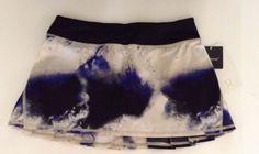 Lululemon Run Pace Setter Skirt Milky Way Galaxy Size 8 Luxtreme #Lululemon #SkirtsSkortsDresses