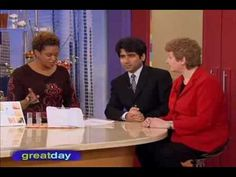 """Dr Anoop Chaturvedi and Margrit Altenburg on the television program """"Great Day Houston"""" discuss Skincerity by NuCERITY International. Skincerity is a revolut. National Institutes Of Health, First Tv, Television Program, Younger Looking Skin, Rosacea, Home Based Business, Stretch Marks, Life Is Beautiful, Your Skin"""