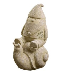 Another great find on #zulily! Snail Garden Gnome Figurine #zulilyfinds