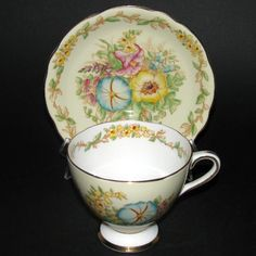 Gladstone Fantasia Teacup and Saucer