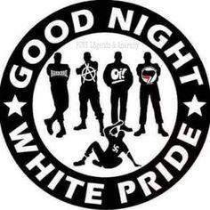 Good night white pride. Antifa!