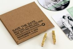 Creative Save the Dates by Jay Adores Design Co. via Oh So Beautiful Paper (6)