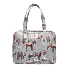 Shoppers | Wild Ponies Large Zip Bag | CathKidston