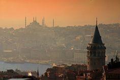 Galata Tower.. Istanbul Turkey